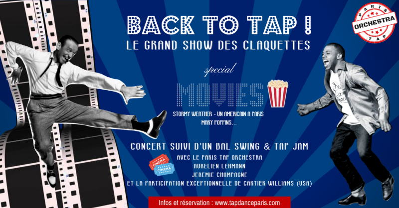 Spectacle de claquettes Back to Tap special MOVIES